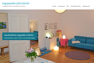 webdesign für logopädie
