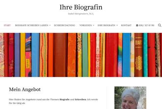 internetseite biografin berlin