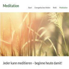 screenshot heilberufe website